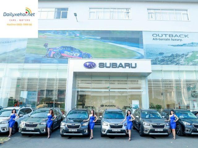 Giá xe Subaru tháng 12