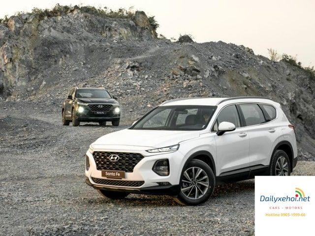 So sánh Subaru Forester và Santa Fe 2020